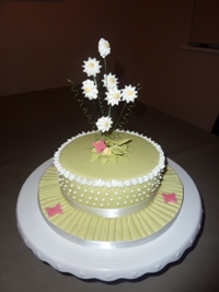 Flower Arrangement Cake